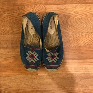 Soludos Embroidered Espadrilles